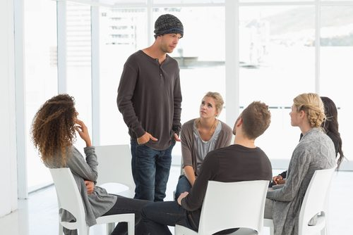 Everyone Gets Some Anxiety Sharing At Twelve Step Meetings And During Treatment