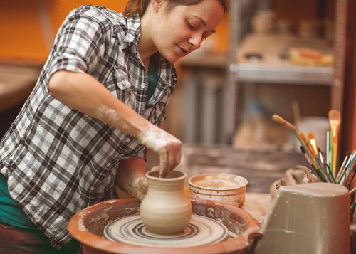Spiritual Transformations In Art Therapy: Working With Pottery